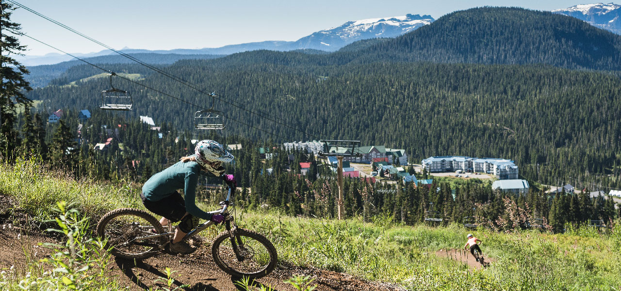 Mountain Biking at Mount Washington Alpine Resort